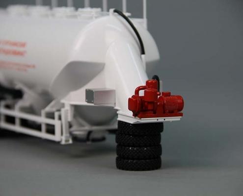 Макет автоцистерны БЦМ-150