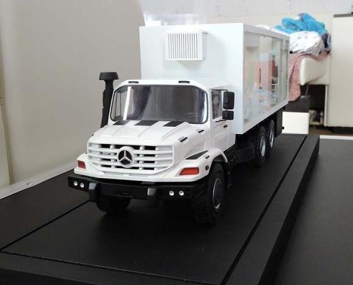 Макет Маммо- флюорография на базе Mercedes Zetros