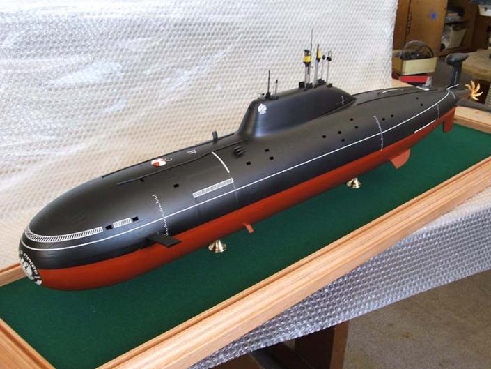 Модель АПЛ проекта 971 _Щука-Б_