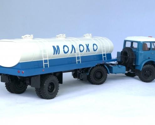 Макет молоковоза АЦПТ-11