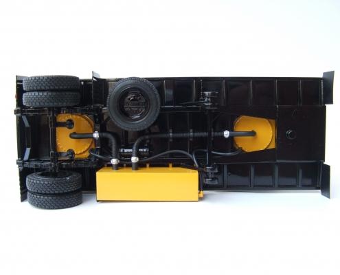 Макет полуприцеп-цистерна ГКБ-9653